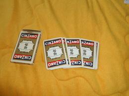JEU DE 32 CARTES CINZANO ROSSO BIANCO BITTER DRY. - 32 Cards