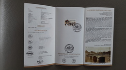 Postfolder 16 1994 Georges Simenon 2579 Stempel Voorverkoop Geel - Belgio