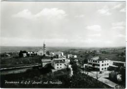 S. S. ANGELI SUL MONTELLO  GIAVERA  NERVESA  VOLPAGO  TREVISO  Panorama Con La Chiesa E Locanda Montello - Treviso