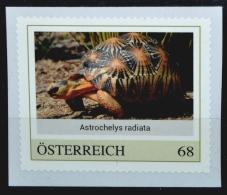 SPECIAL EDITION AUSTRIAN POST - H799 Strahlenschildkröte, Astrochelys Radiata, Turtle, Tortue, Tortuga, AT 17** - Autriche