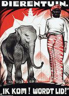 @@@ MAGNET - Dierentuin. Ik Kom! Wordt Lid, Elephant - Publicitaires