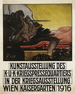 @@@ MAGNET - Kunsausstellung Des K.U.K. Kriegspressequartiers Wien - Pubblicitari