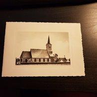 Eglise St-Aubain - Opprebais (carte Joyeux Noël Et Meilleur Voeux De Nouvel-an) - Incourt