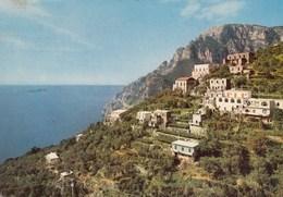 POSITANO-MONTEPERTUSO-SALERNO-CARTOLINA VERA FOTOGRAFIA-VIAGGIATA IL 3-8-1977 - Salerno