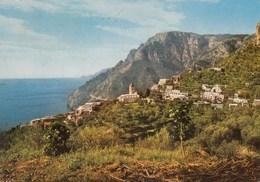 POSITANO-MONTEPERTUSO-SALERNO-PANORAMA-CARTOLINA VERA FOTOGRAFIA-VIAGGIATA IL12-07-1977 - Salerno