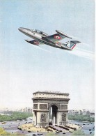 ** Lot De 2 Cartes ** AVIONS MILITAIRES Planes : MORANE SAULNIER 760 - Flugzeug Vliegtuigen - CPSM CPM GF MILITARIA - 1946-....: Moderne