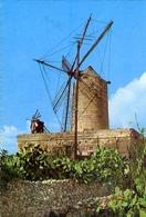 Malta - Hagara  Gozo - Il Mithna - Old Windmill - Formato Grande Non Viaggiata – E 7 - Malta