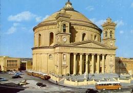 Malta - Mosta Dome - Formato Grande Non Viaggiata – E 7 - Malta