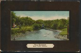 °°° 11783 - UK - WEST HARTLEPOOL , BURN VALLEY GARDEN - 1909 With Stamps °°° - Durham