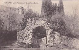 FRASCATI. VILLA FALCONIERI, CANCELLO ESTERNO. CIRCA 1900's UNUSED- BLEUP - Altre Città