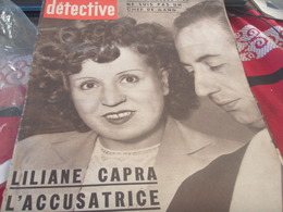 DETECTIVE/ LE FAOUET FOLLE /ASSASSIN TROTSKY MORNARD /CIRQUE ZAVATTA /RINXENT BOULOGNE SUR MER AVION - Algemene Informatie