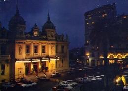 Monte Carlo - La Nuit Le Casino Et L'hotel De Paris - Formato Grande Viaggiata – E 7 - Monte-Carlo