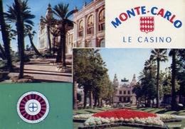 Monte Carlo - Le Casino - Formato Grande Viaggiata – E 7 - Monte-Carlo