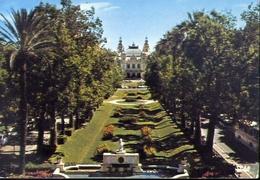 Monte Carlo - Le Casino Et Ses Jardins - Formato Grande Viaggiata – E 7 - Monte-Carlo