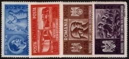 ROM SC #B170-3 MNH 1941 Anti-Bolshevism Crusade CV $9.50 - 1918-1948 Ferdinand, Charles II & Michael