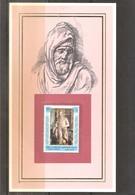 Sculpture - Moïse - Auteur Michel-Ange - Sur Fiche Cartonnée Avec Timbre XX/MNH - Sculpture