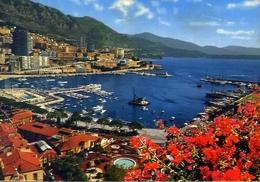 Principato De Monaco - Vue Generale - Formato Grande Viaggiata – E 7 - Monaco