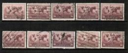 AUSTRALIA   Scott # C 5 USED WHOLESALE LOT OF 10 (WH-208) - Stamps