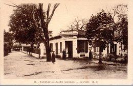 TAUSSAT LES BAINS  -  La Poste  - Edition MD N° 9 - France
