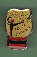 BOXE FRANCAISE *** SAVATE RUYMOTOISE *** 0068 - Boxing