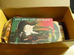 Lot 43 Beer Mats All Different In A Box - Portavasos