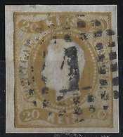 PORTUGAL Don Luis N°20 Bistre Brun Oblitéré GC 1  Belles Marges  Tres Frais... - 1862-1884: D. Luiz I.