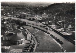 Saarbrücken (Saar) - Luftaufnahme Der Saar Und Des Theaters - Saarbruecken
