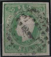 PORTUGAL Don Luis N°22 Vert Oblitéré GC 1 TTB - 1862-1884: D. Luiz I.