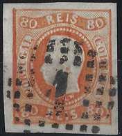 PORTUGAL Don Luis N°23 Orange Oblitéré GC 1 TTB Signé Brun - 1862-1884: D. Luiz I.
