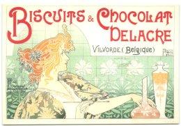 Privat Livemont - Beschuiten En Chocolade - Vilvoorde - Affiche Kleurenlithografie - Brussel 1896 - Vilvoorde