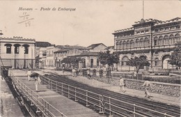 POSTCARD BRASIL  BRAZIL - MANAUS - PONTE DE EMBARQUE - Manaus