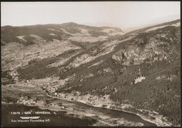 Postcard Norway - Norge - Gol - Hemsedal (Foto Wideroe's Flyveselskap A/S) - Postcard - CPA - Noorwegen