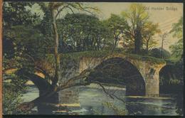 °°° 11804 - UK - OLD HODDER BRIDGE - 1908 With Stamps °°° - Inghilterra