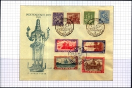 INDIA-HISTORICAL COVERS ON POST INDEPENDENCE- PICTURE POST CARD- ARCHAEOLOGICAL SERIES#1 - MC-77 - Indien