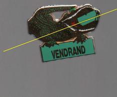 PIN'S J.CORDIER SMAP..VENDRAND..CROCODILE......BT1 - Administrations