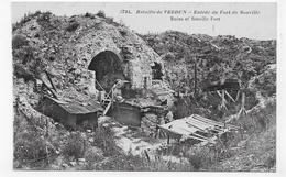 BATAILLE DE VERDUN - N° 3734 - ENTREE DU FORT DE SOUVILLE - CPA NON VOYAGEE - Verdun