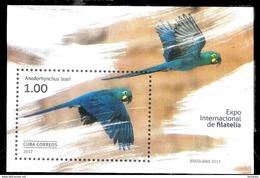 2864  Birds - Parrots - Oiseaux - 2017 - MNH - Fre Shipping - 2,50 - Parrots