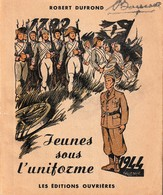 """Rare Livret De Conseils Pour Les """" Jeunes Sous L'uniforme 1944 """" - 1939-45"""