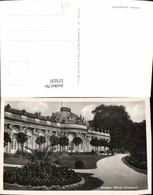573235,Foto Ak Potsdam Schloss Sanssouci Garten - Deutschland