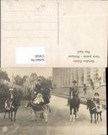 574505,tolle Foto-AK Pony Kinder Pferde Pferd Familie Kaiser Pub Alterocca Terni - Pferde