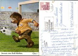 572886,Mecki 433 Igel Spielt Fussball Immer Am Ball Bleiben - Mecki