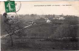 CHATEAUNEUF LA FORET VUE GENERALE 1912 TBE - Chateauneuf La Foret