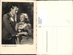 578120,Foto Ak Liebe Paar Du Weißt Schon Was Ich Meine Blumen - Paare