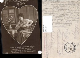 578123,Liebe Frau Ich Weiß Ein Herz Für Das Ich Bete Text Pub EAS 04763/6 - Paare