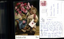 578306,Mecki Igel 345 Gruß An Dich Brief - Mecki