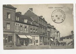 CPA - GACÉ - Grande-Rue - Animée - 1918 (Z156) - Gace