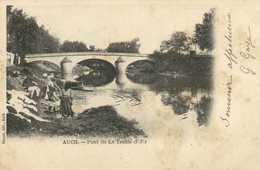 AUCH  Pont De La Treille Laveuses Au Travail RV - Auch