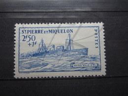VEND BEAU TIMBRE DE SAINT-PIERRE ET MIQUELON N ° 208 , X !!! - St.Pierre Et Miquelon