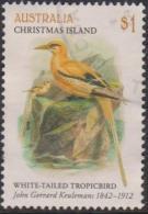 CHRISTMAS ISLAND-USED 2018 $1.00 The Art Of J.G. Keulemans - White Tailed Tropicbird - Christmas Island