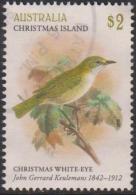 CHRISTMAS ISLAND-USED 2018 $2.00 The Art Of J.G. Keulemans - Christmas Island White- Eye - Bird - Christmas Island